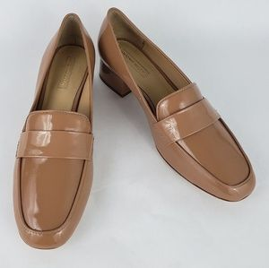 New Antonio Melani Beige Loafers Size 8